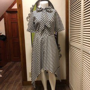 New eShatki Asymmetrical Striped Dress 18